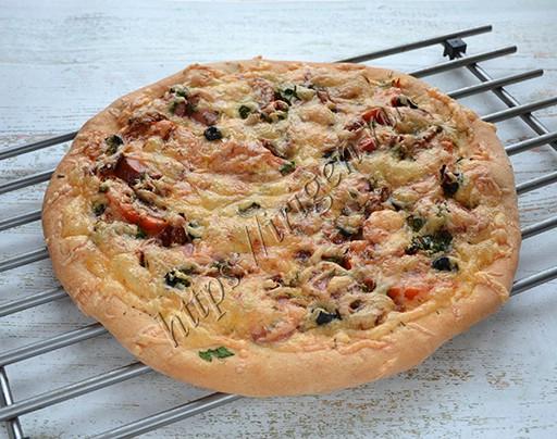 Пицца на биге