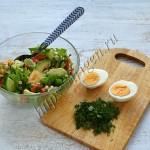 салат из авокадо витаминный
