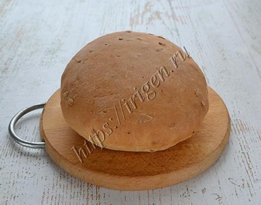 Мини-хлеб с геркулесом