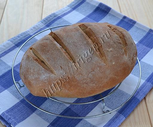 Мини-хлеб с ржаной мукой