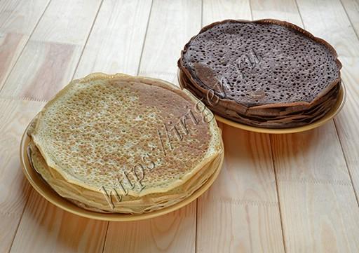блинчики для торта