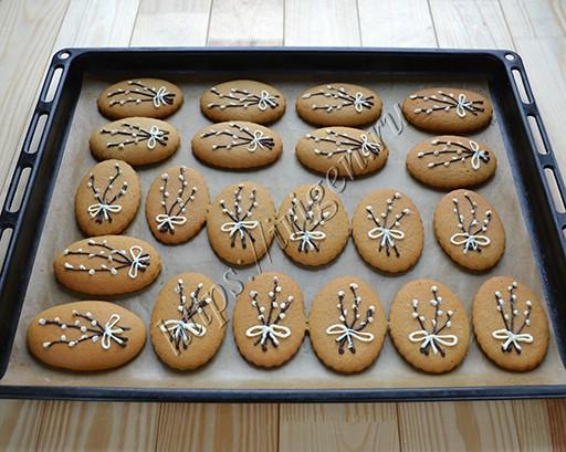 имбирное постное печенье