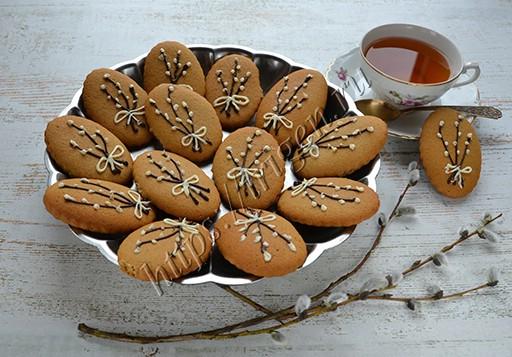 печенье имбирное вербное