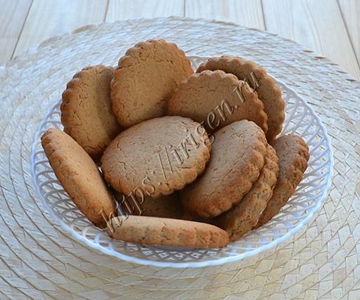 овсяное печенье постное