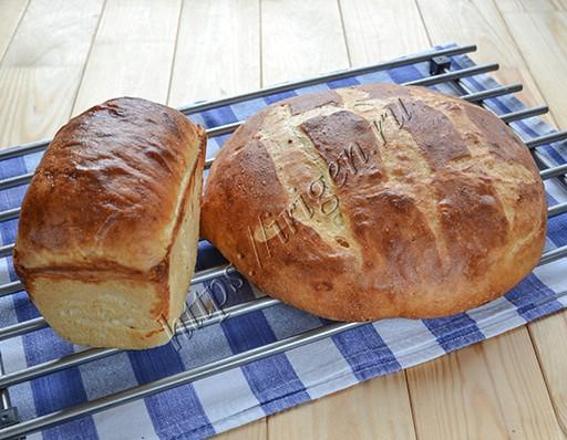 Хлеб картофельный в духовке