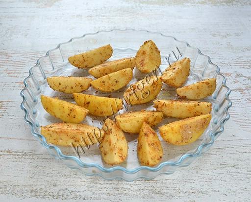 картофель перед запеканием