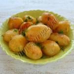 картофель молодой в мультиварке