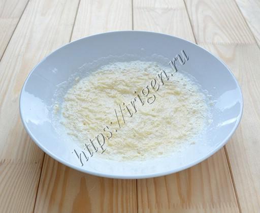 белково-сырная смесь