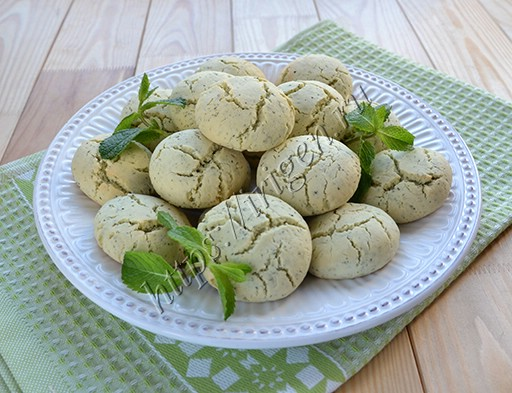 печенье мятное