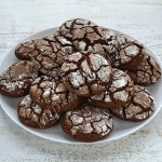печенье шоколадно-медовое с трещинками