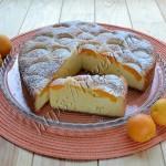 пирог абрикосовое сердце