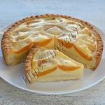 абрикосовый пирог с заливкой