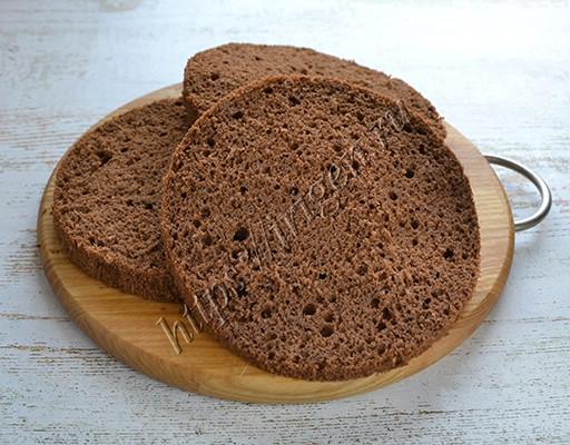 шоколадный бисквит на растительном масле