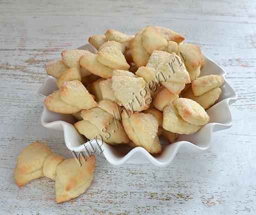 печенье бантики