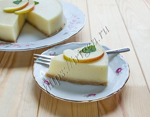 яблочный муссовый десерт