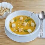суп-пюре чечевичный постный