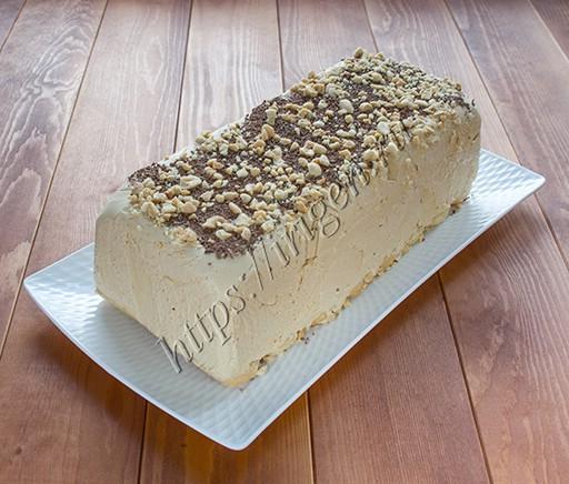 торт-мороженое крем-брюле
